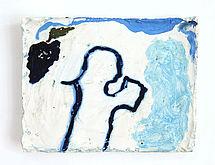 Iroise Doublet Sans titre 2017 huile sur platre 13 8 x 17 5 cm credit photo de l artiste web
