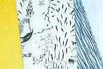 Sans titre, série Les Météores, 2020 Huile, pastel et fusain sur toile 150 x 185 cm © Adagp, Paris 2020. Photo : Mirela Popa